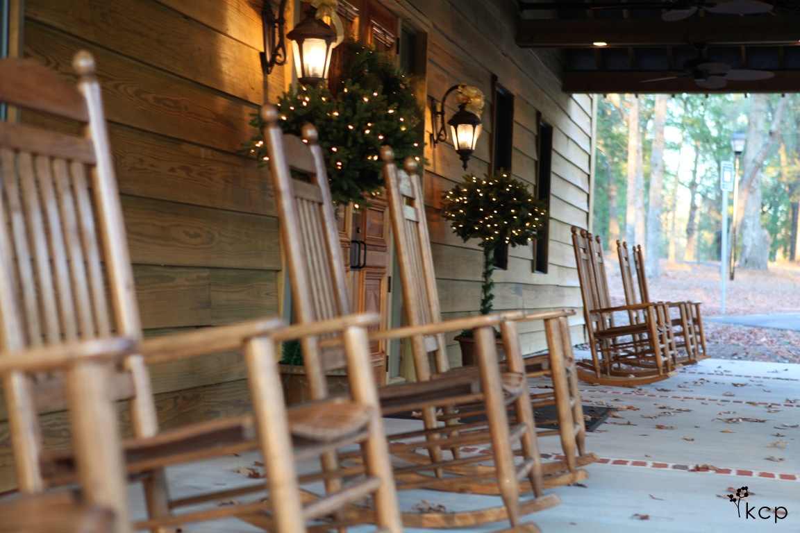 Front Porch Rocking Chairs the belle house